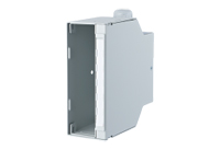 DIN rail outlet